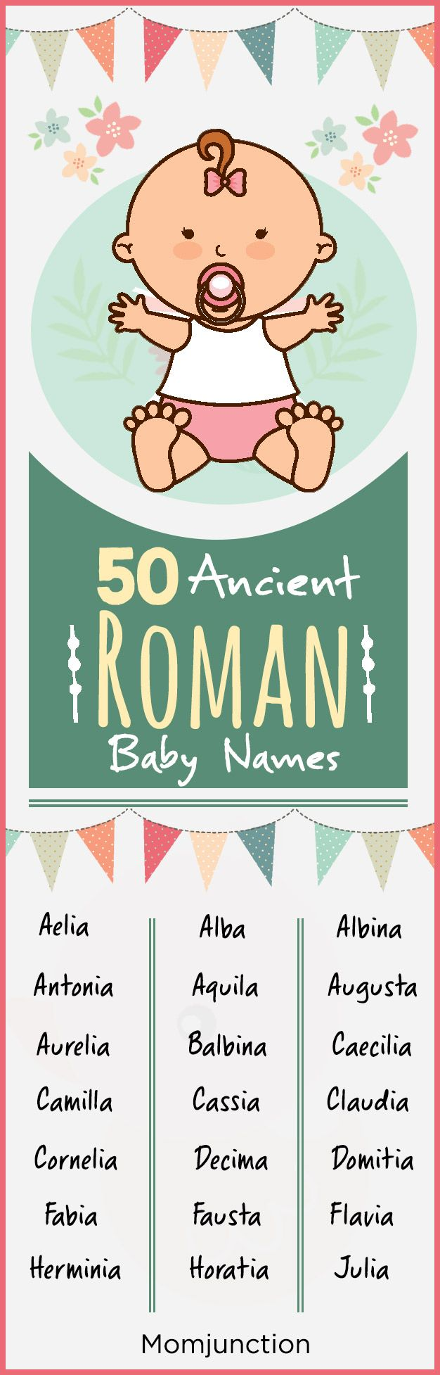 60 Ancient Roman Baby Names For Girls And Boys | Baby girl ...