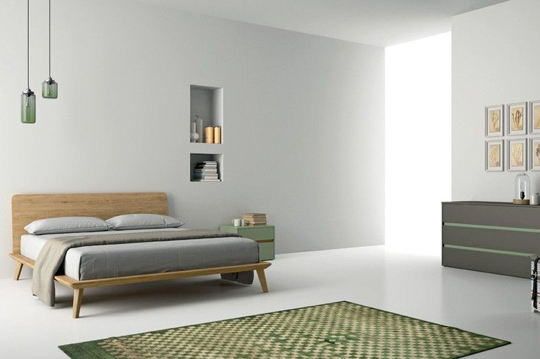 Bett Easy Dall´ Agnese Pinterest Bett, Holzbett und Form - klassische bett designs schlafzimmer