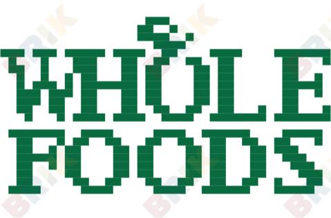 Whole Foods Market Inc Logo Pixel Art Pixel Art Design Lego Art