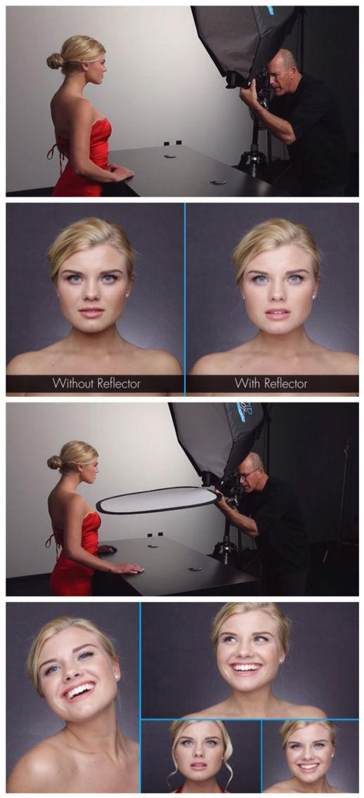 Changing The Look Of A Portrait With One Light In Different Positions