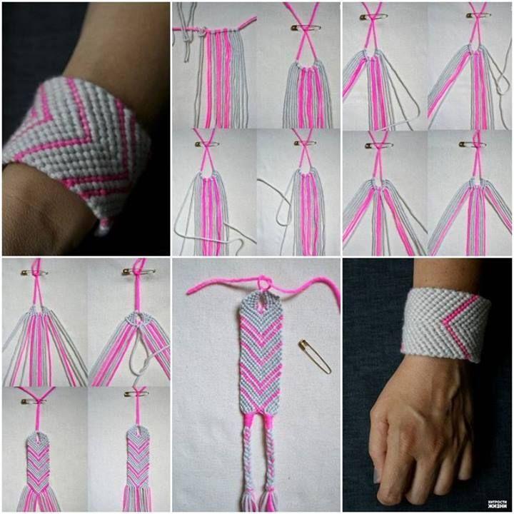 Diy woven bracelet pulseras bisutera y joyeras diy woven bracelet solutioingenieria Images
