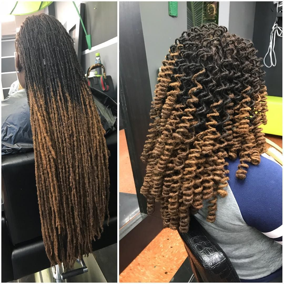 More Of Our Styles We Would Be Teaching In Our Loc Styling Classes Hair Styles Dreadlock Hairstyles Black Braids For Black Hair