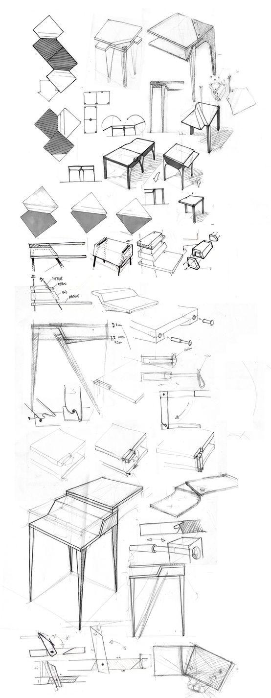 great furniture sketch croquis pinterest dessin design et croquis. Black Bedroom Furniture Sets. Home Design Ideas