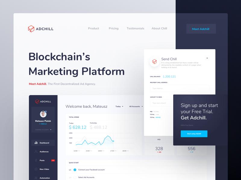 Adchill General Web App Design Web Design Portfolio Web Design