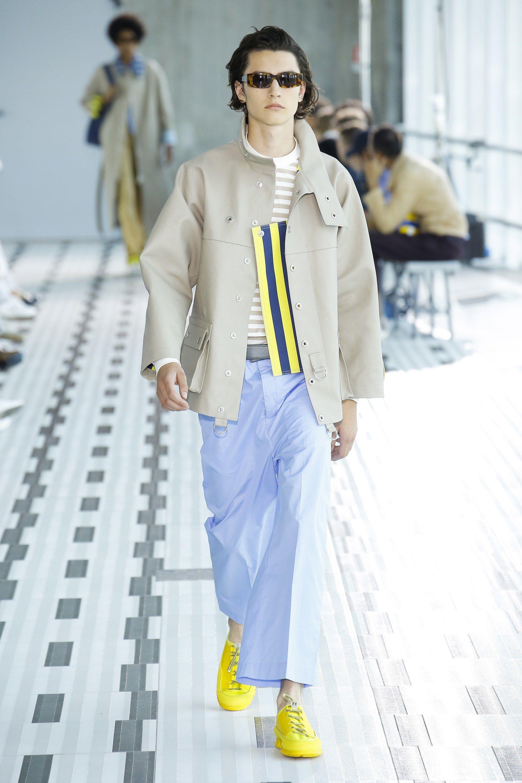Sunnei Spring 2019 Menswear Fashion Show La Mode Color And Print