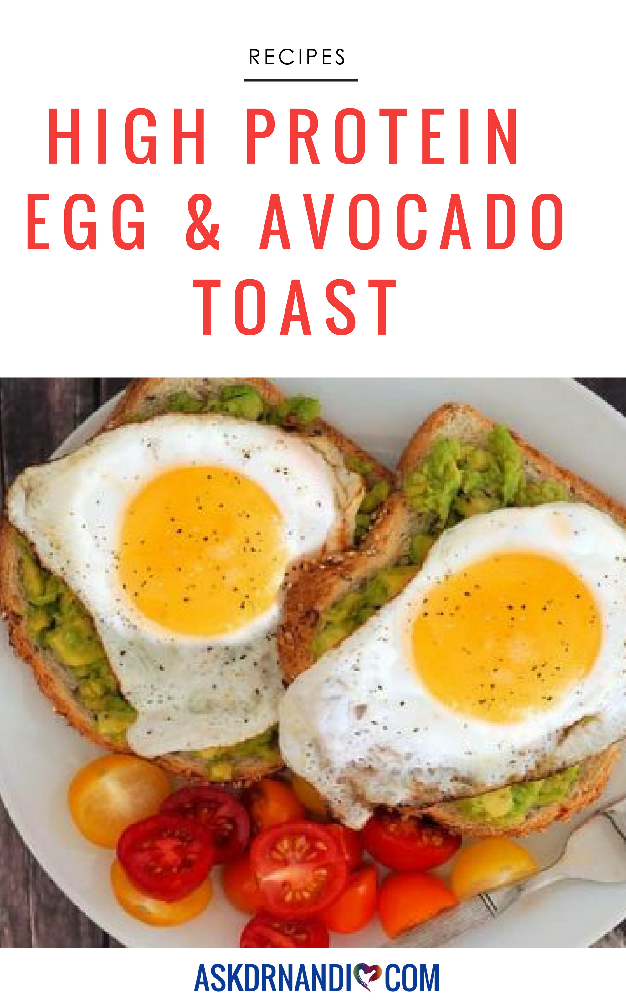Dr Nandi S Egg And Avocado Toast Recipe Recipe Organic Recipes Organic Recipes Healthy Benefits Of Organic Food