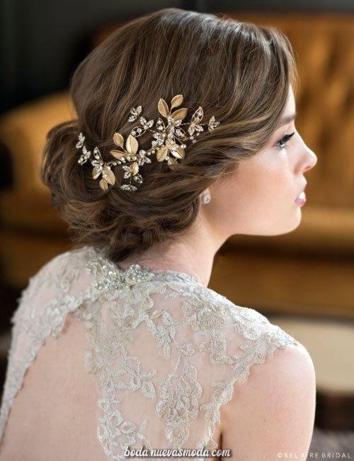 11 Peinados para boda civil cabello corto