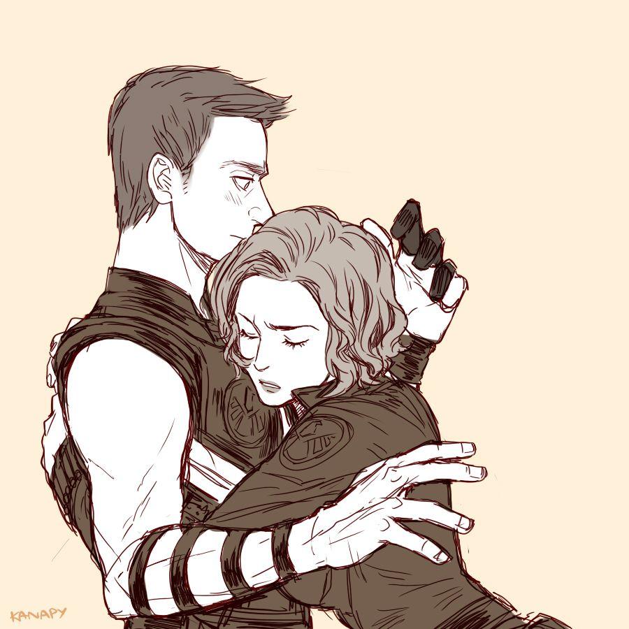The Avengers (MCU) - Clint Barton x Natasha Romanoff