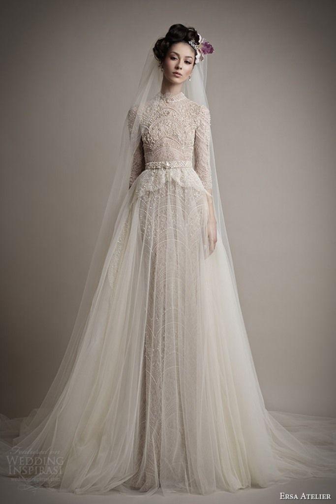 46 Fabulous Wedding Dresses For Muslim Brides 2019 Fashion