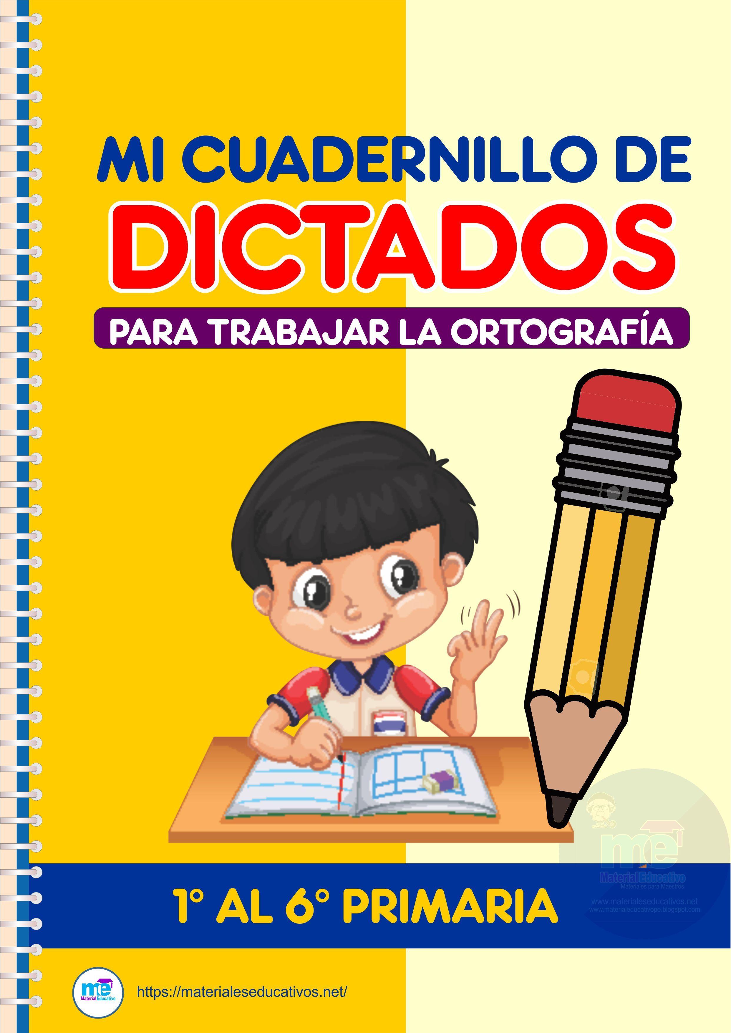 Mi Cuadernillo De Dictados Para Mejorar La Ortografía En Primaria En 2020 Libros De Lectoescritura Lecturas Comprensivas Para Primaria Libros De Matemáticas