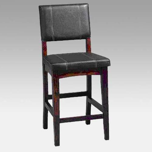 Have To Have It Linon Milano 24 In Faux Leather Counter Stool