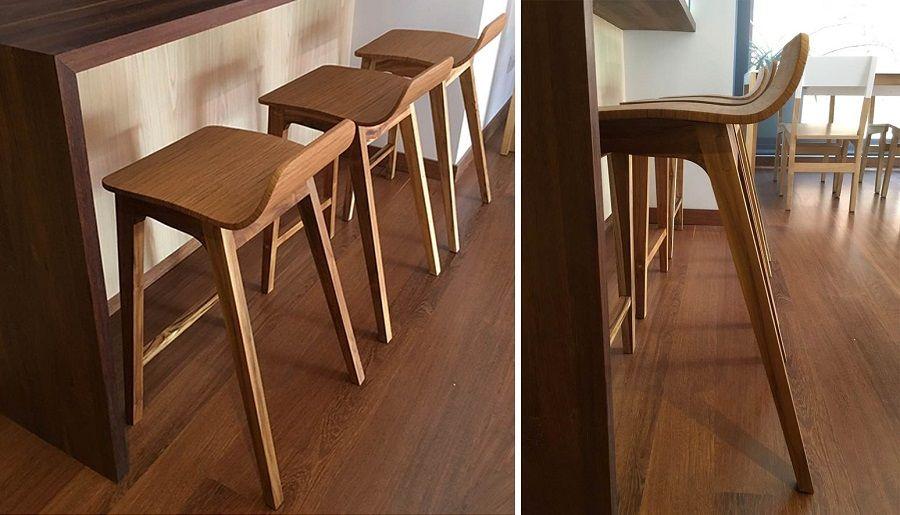 4 estilos de butacos para la barra de tu cocina for Sillas para barra de cocina