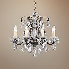 Schonbek century bronze 24 wide crystal chandelier chandeliers crystal chandeliers page 3 lamps plus mozeypictures Images