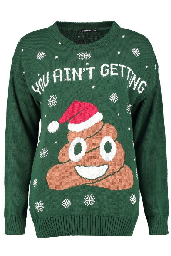 0a353bb24 I only get out my baubles once a year - rude Christmas jumper   Asshole &  Co.   Mens christmas jumper, Funny christmas jumper, Christmas sweaters