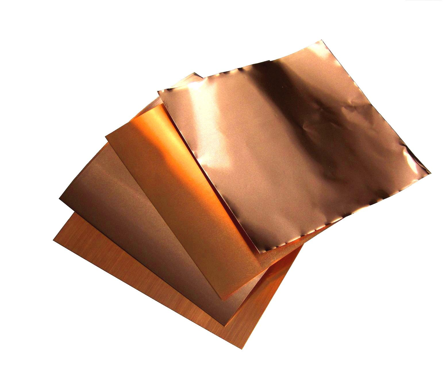 Copper Supplies Copper Sheeting Copper Sheet Thickness