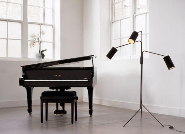 55 moderne Stehlampe Designs bei der Inneneinrichtung schaffen - moderne wohnzimmer stehlampe