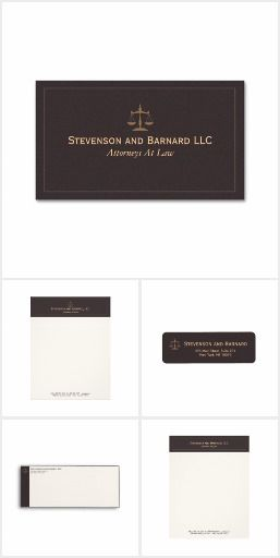 Classic attorney business stationery suite a handsome collection classic attorney business stationery suite a handsome collection of zazzle lawyer business cards letterhead reheart Images