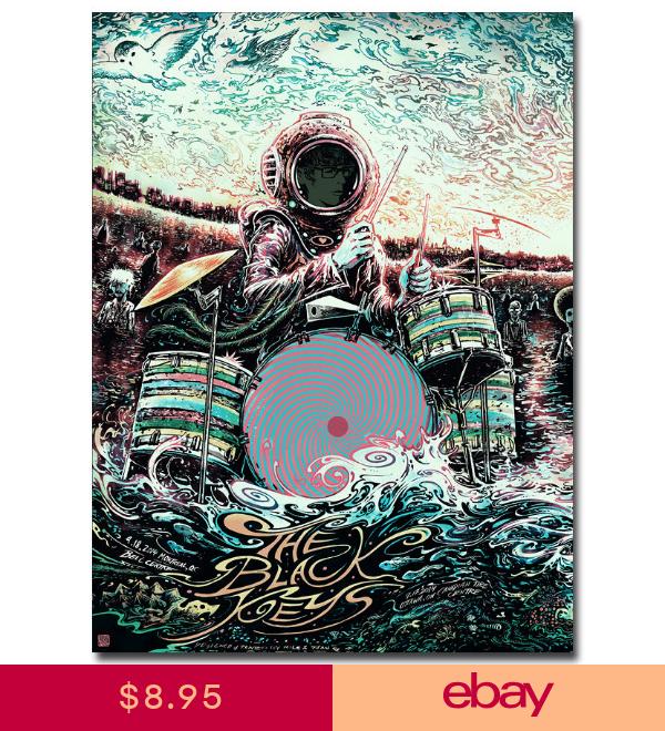 New The Black Keys Obey Silk Poster Custom Wall Decor