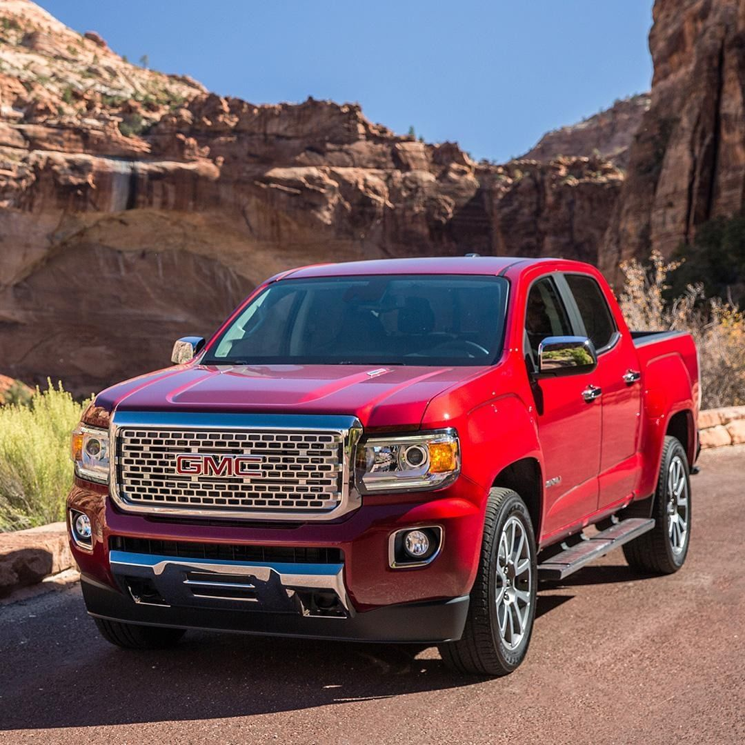 Gmc On Instagram The Perfect Accent To Zion S Stunning Red