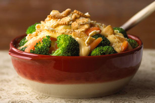 Easy Carrot & Broccoli au Gratin