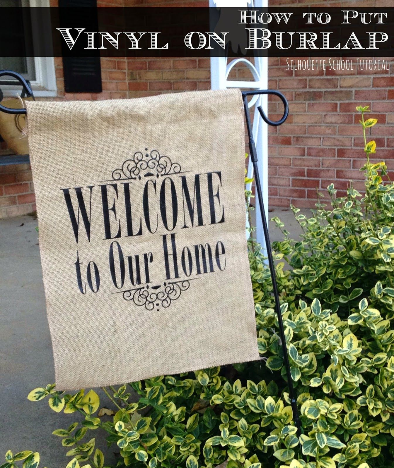 htv on burlap tutorial the easiest way do it and a giveaway