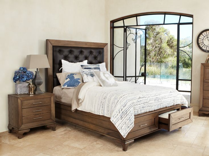 the florence brings classic interior design to the bedroom