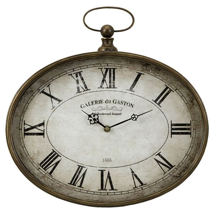 For The Clock Wall In My Head Brown Wall Clocks French Wall Clock Roman Numeral Wall Clock