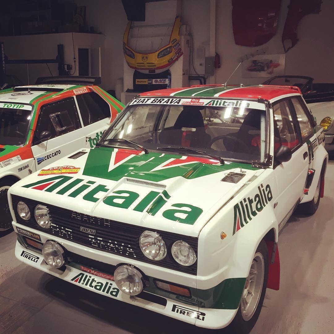 Fiat 131 Mirafiori Rally Car