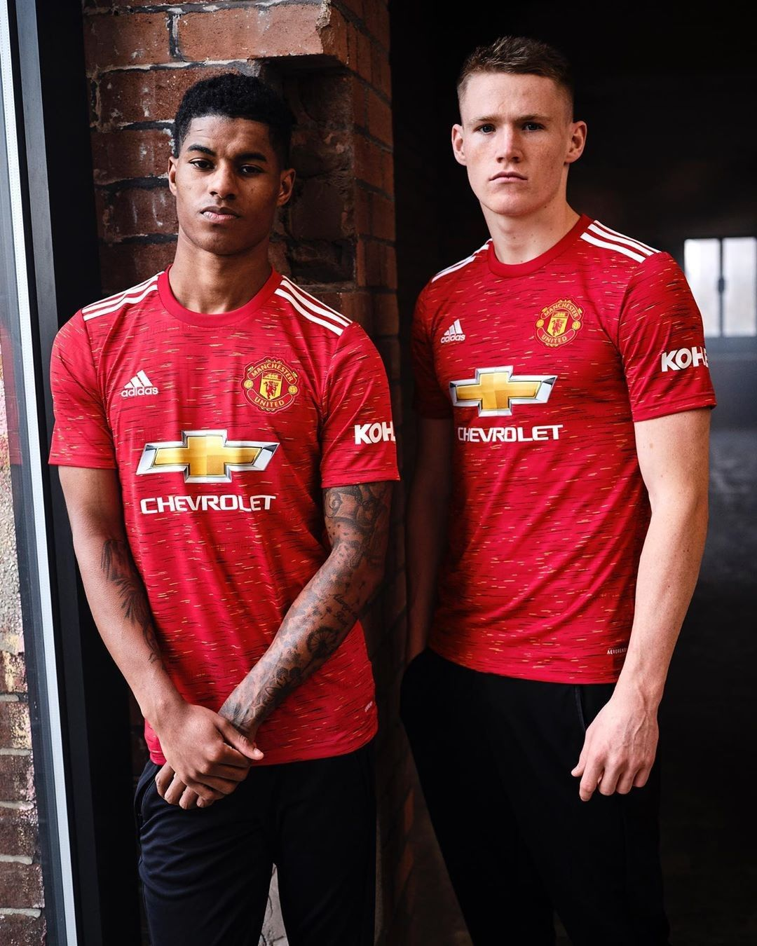 Man Utd 2020 21 Home Jersey In 2020 Manchester United Manchester United Soccer The Unit