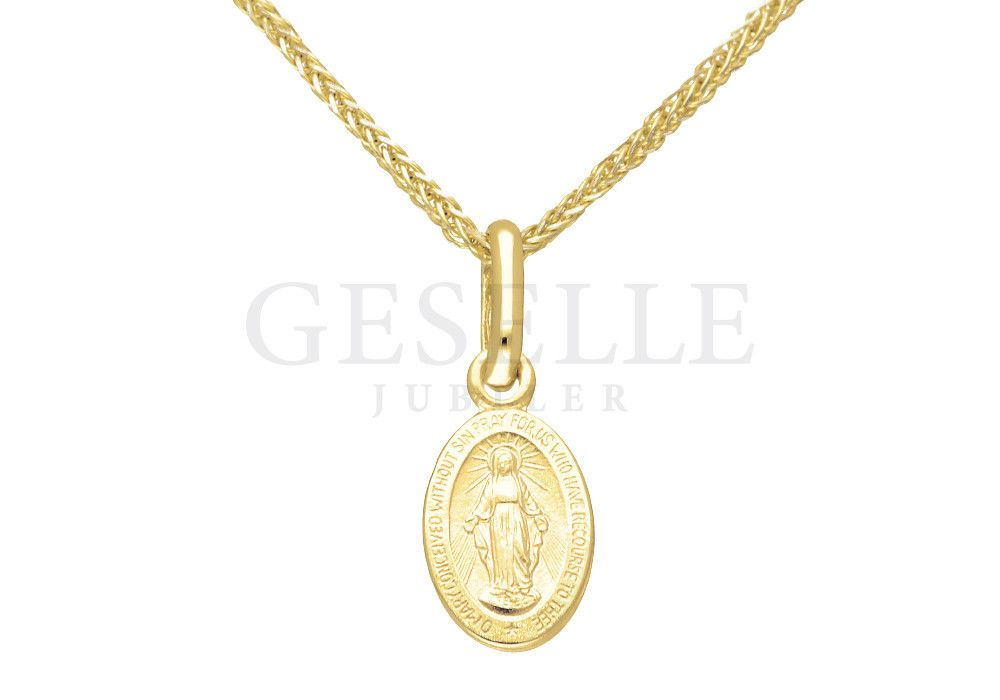 ef2e82f03db17b Cudowny medalik z Matką Boską - Medalik Niepokalanego Poczęcia - idealny  pomysł na prezent z okazji