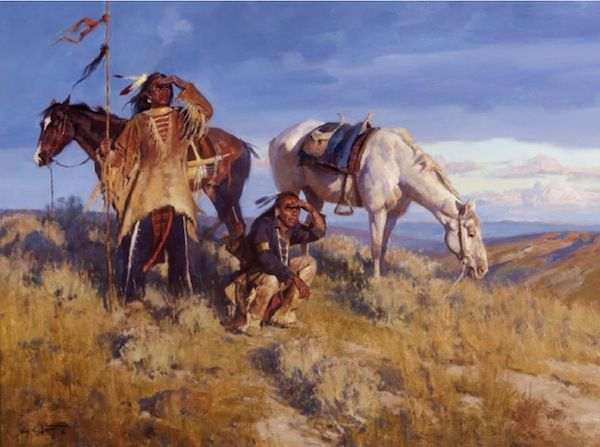 Jim Norton Storm On The Horizon Art Native American