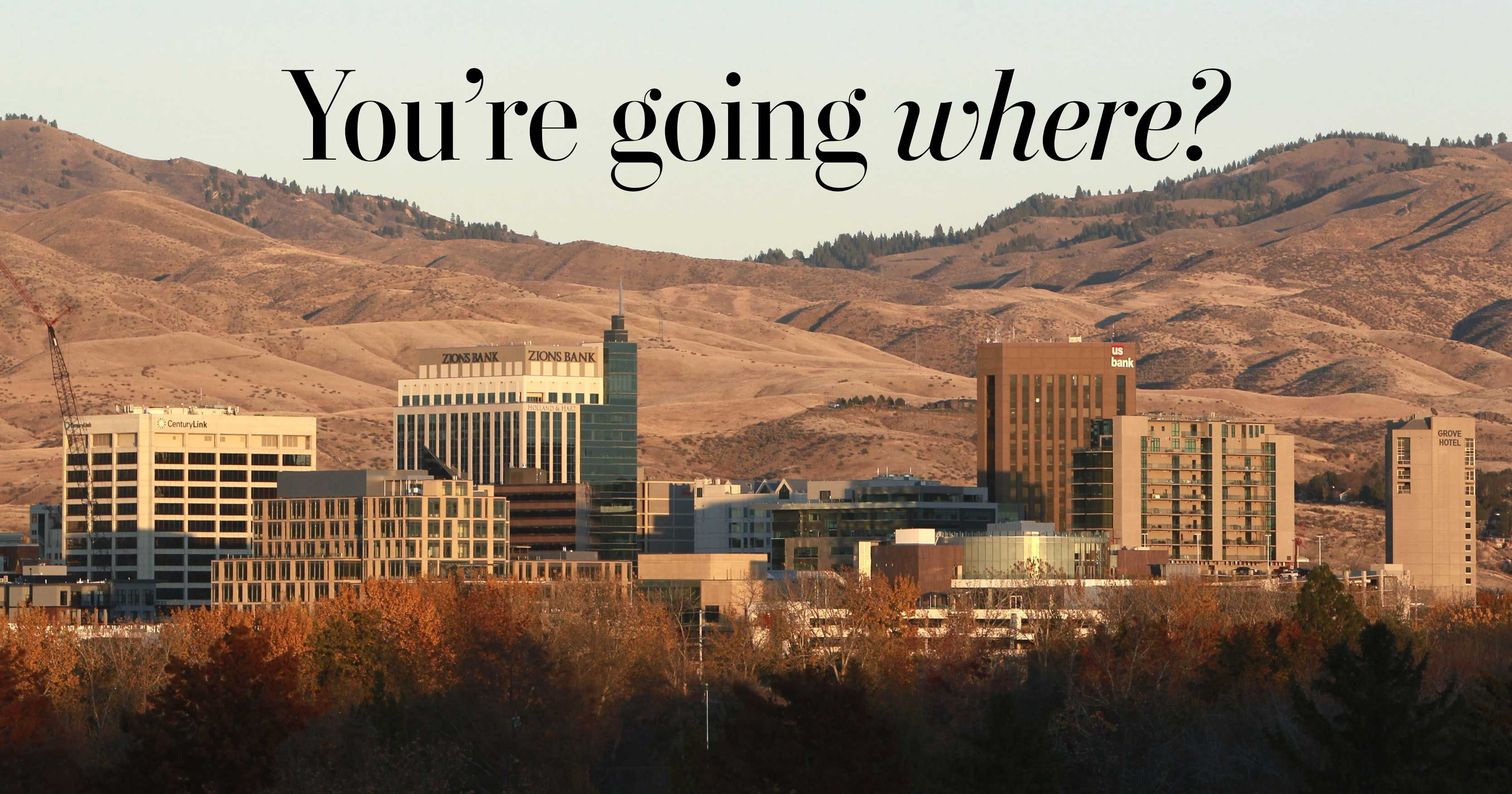 Why you should visit Boise | Capital city, Idaho and Rivers