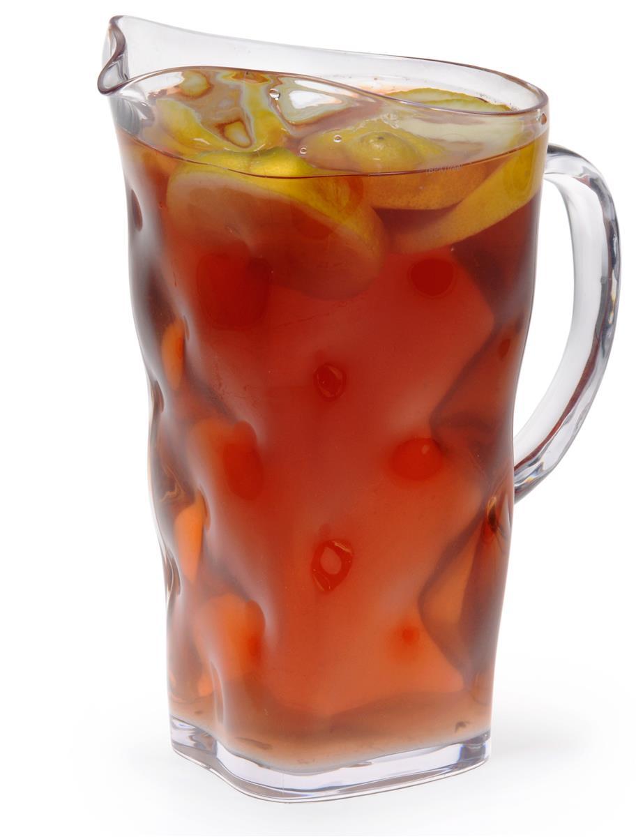 2 Liter Textured Pitcher Clear Iced Tea Pitcher Tea Pitcher Iced Tea