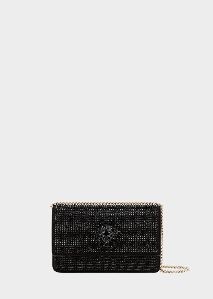 860e50082d3e Crystal Palazzo Evening Bag from Versace Women s Collection. Leather  evening bag