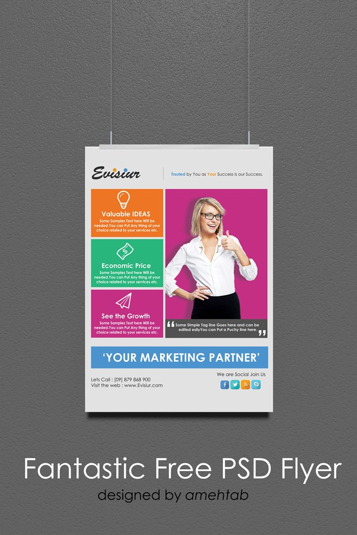 Download Multi Purpose Flyer Template Psd Free Free Resources