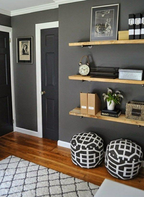 pin von jessica auf grau beige braun | pinterest | regale - Wohnzimmer Ideen Wandgestaltung Regal