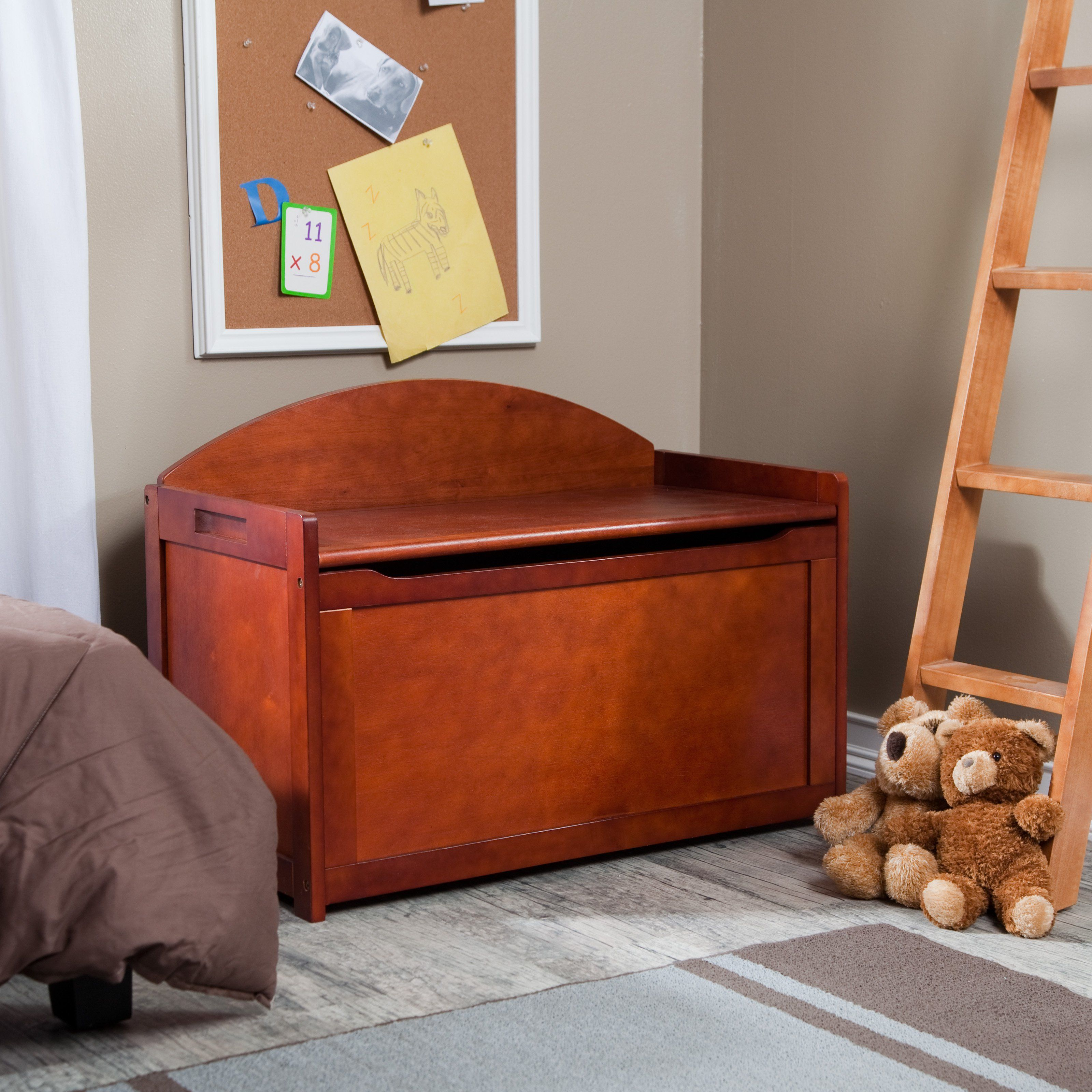 Beechwood Toy Chest By Lipper Toy Chest Kids Furniture Kids