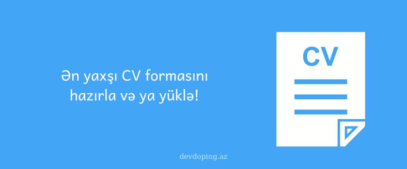 Cv Formasi Pulsuz ən Yaxsi Cv Formalari Yukle Online Cv Word Doc Company Logo