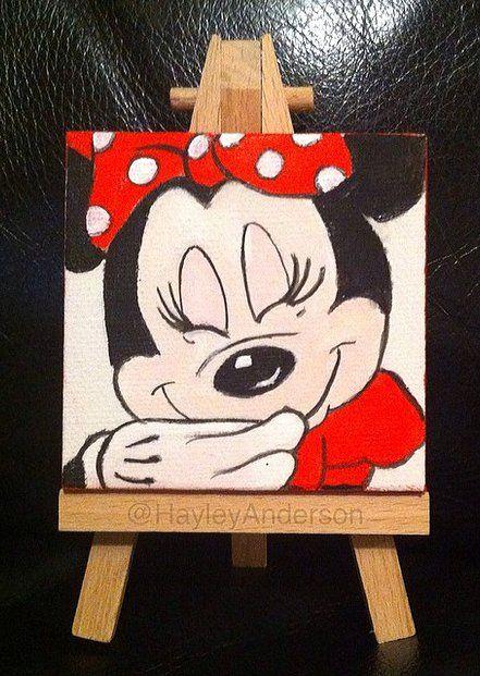 canvas art of Minnie M...