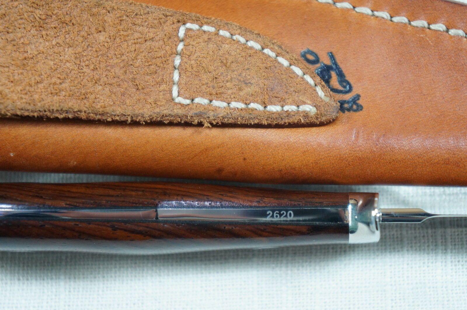 Custom George Herron Walnut Hunter Knife | eBay