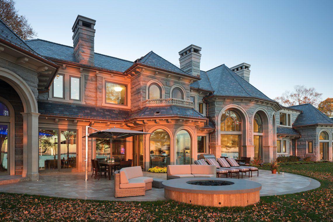custom homebuilders john kraemer & sons built this stunning lake