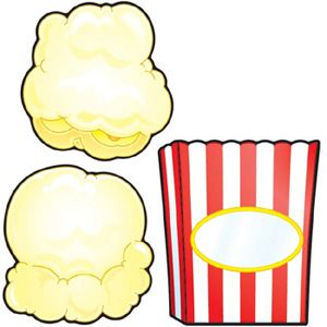 Teacher Created Resources 5287 Popcorn Accents