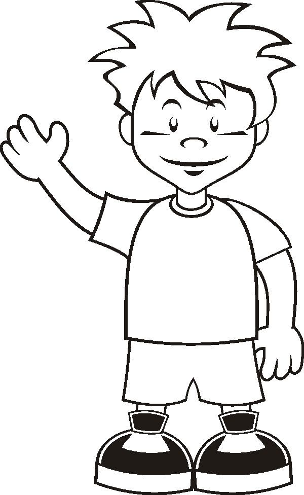 Boy coloring pages printable Boy coloring pages printable ...