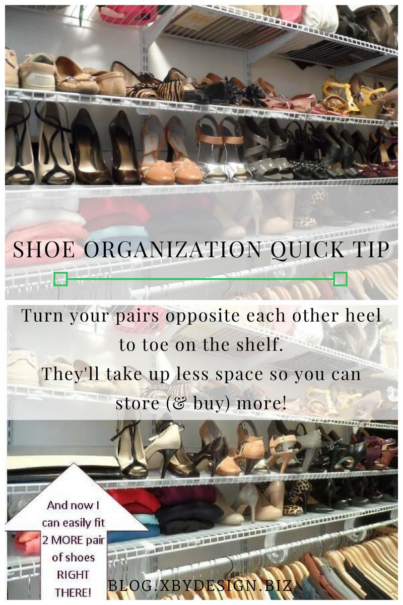 aac82bf05 Let s Go Shoe Shopping  Shoe Organization Quick Tip - Xtraordinary by  Design - Interior Design Houston