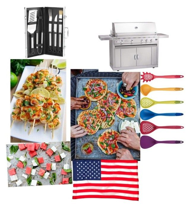 """Old Fashion BBQ"" by breezyd123 on Polyvore featuring interior, interiors, interior design, home, home decor, interior decorating, Kitchen Craft, Evergreen, Picnic at Ascot and summerbbq"