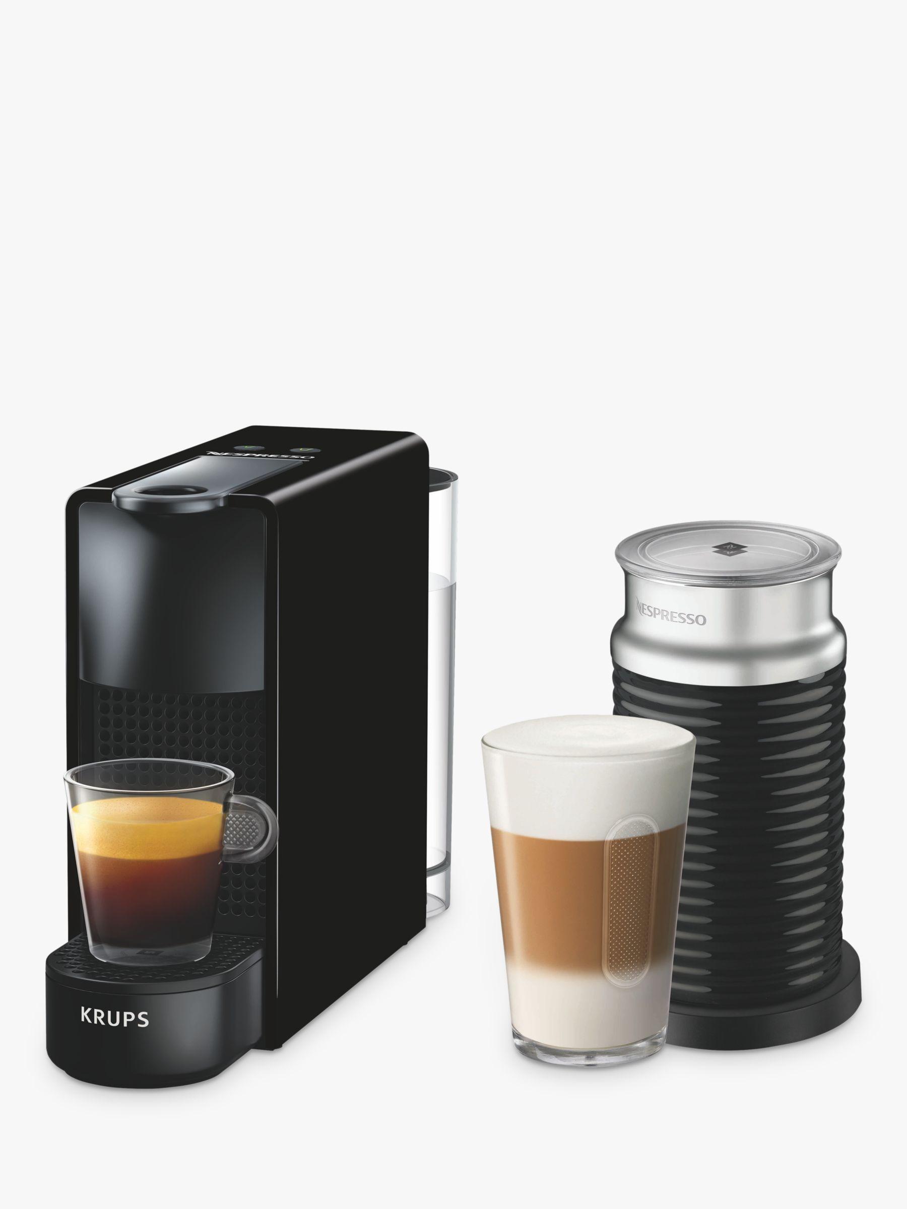 Nespresso Essenza Mini Coffee Machine With Aeroccino By