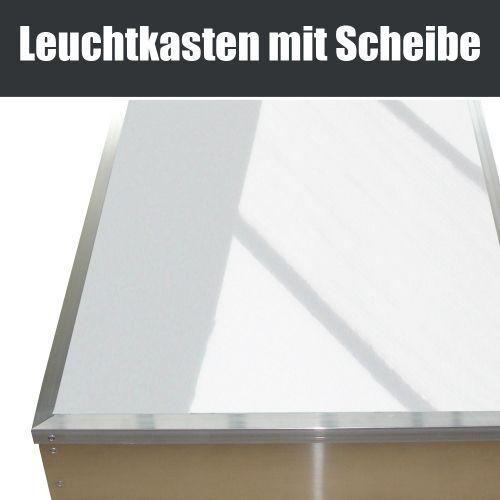 Leuchtkasten einseitig mit Scheibe 700 x 700 mm, Leuchtreklame, Leuchtkasten, #leuchtkasten, Leuchtreklame, #leuchtreklame, Leuchtwerbung, #leuchtwerbung, vom Fachmann. Direkt beim Hersteller kaufen.