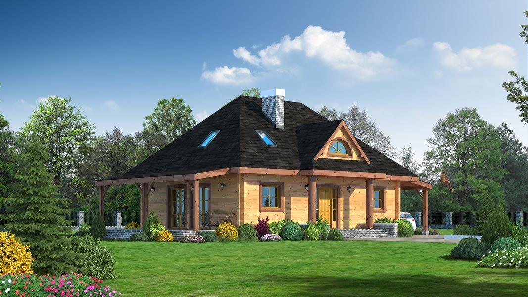 projekty małych domów parterowych
