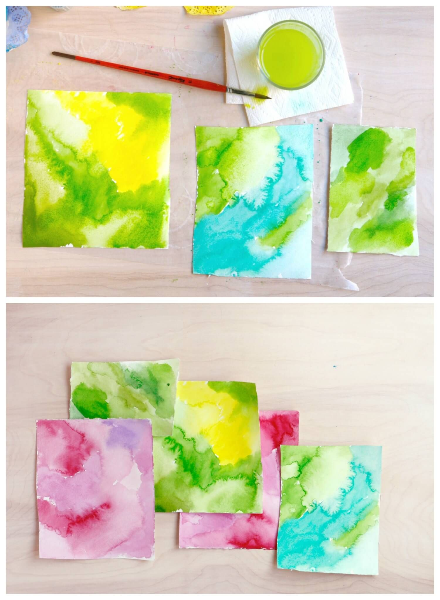 Watercolor Collage Project For You To Just Freaking Make Right Now