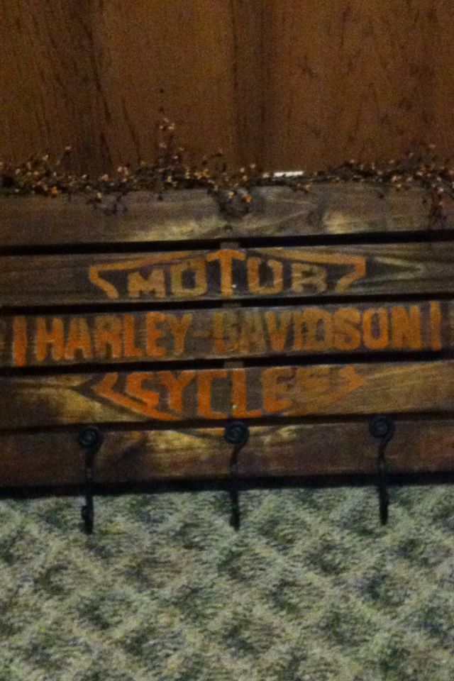 Harley Davidson Coat Rack Furniture Pinterest Harley Davidson Inspiration Harley Davidson Coat Rack